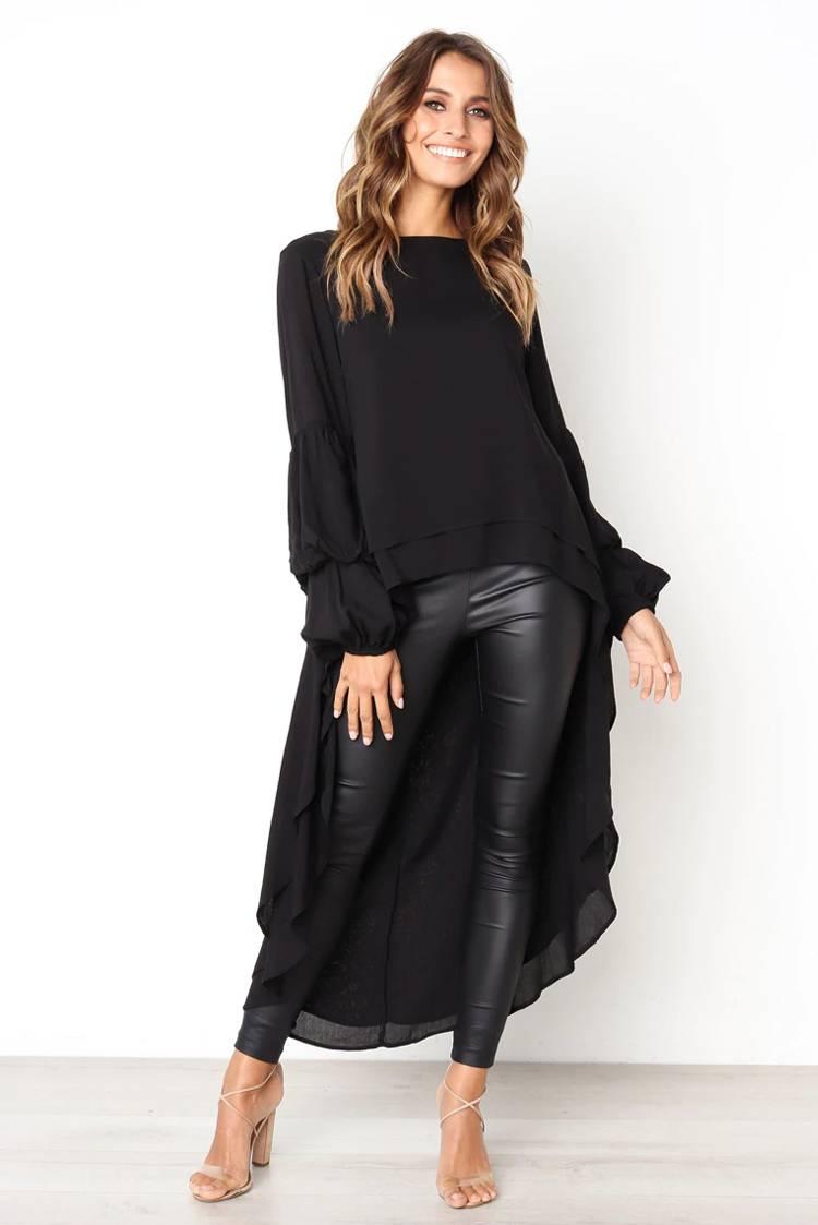f66e3bdfcd9e γυναικείο πουκάμισο IMPERA BLACK